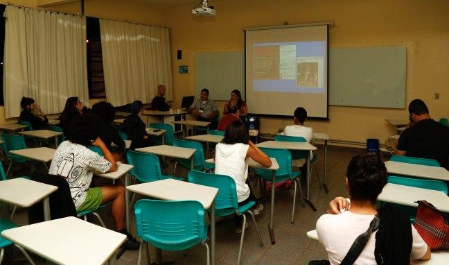 Seminário sobre assessoria de imprensa e mídias sociais. Foto: Gabriel Santos